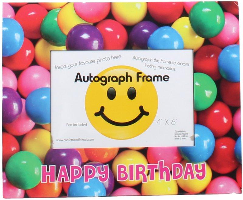 Gumball Birthday Frame - ITEM #BJ733