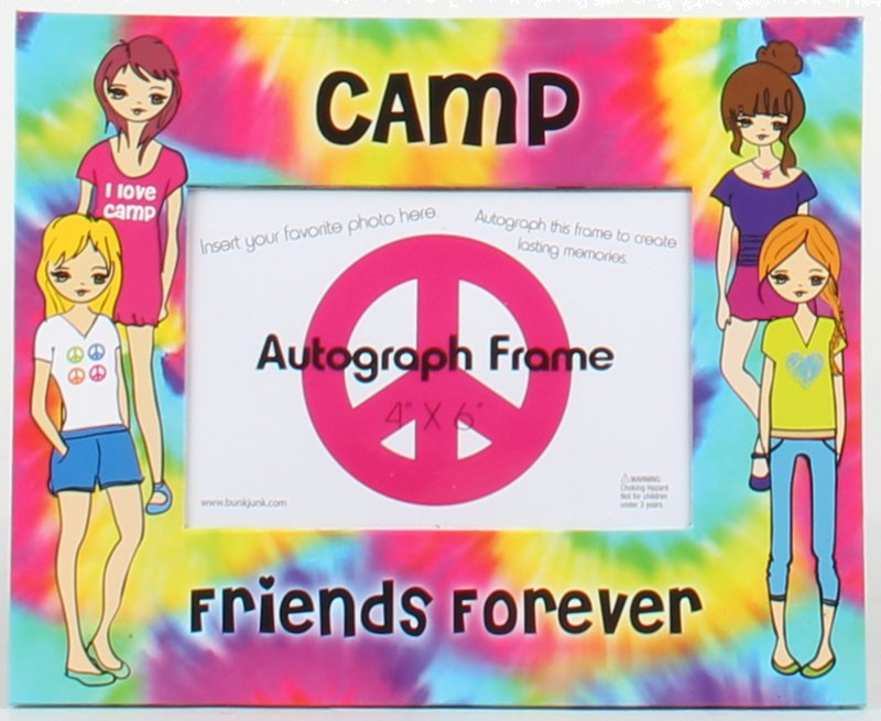 The Dye Camp Friends Forever Autograph Frame - ITEM # BJ568