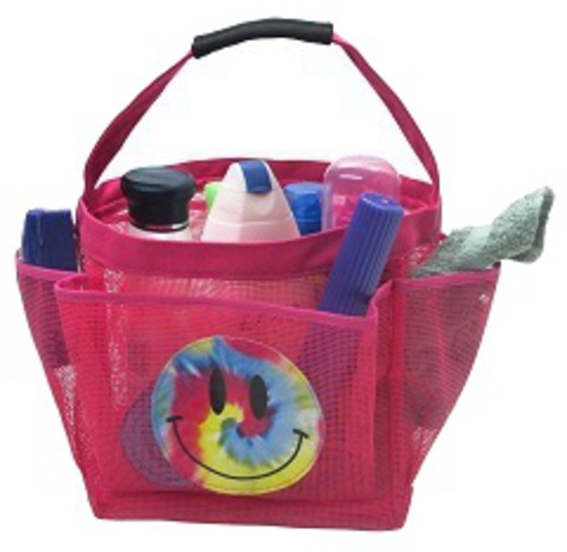 Shower Caddy - Pink-Smile - ITEM #BJ559