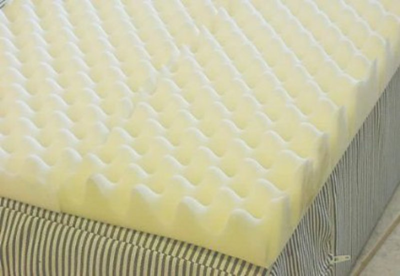 egg crate foam mattress covers/pads- gilbin store campers collection