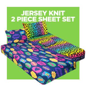 Cot Size Jersey Knit Sheets - gilbin store campers collection