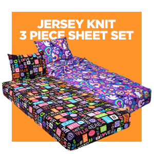 This Bedding Set Includes A Pillowcase, Flat Sheet And Fitted Sheet, In  Many Unique Prints. This Is The Perfect Camp Bedding Super Comfortable To  The Touch.