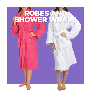 Robes - Shower Wraps