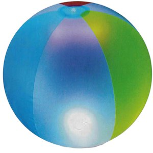 Light up beach balls
